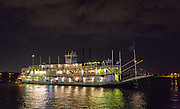 Riverboat Natchez on the Mississippi River at New Orleans