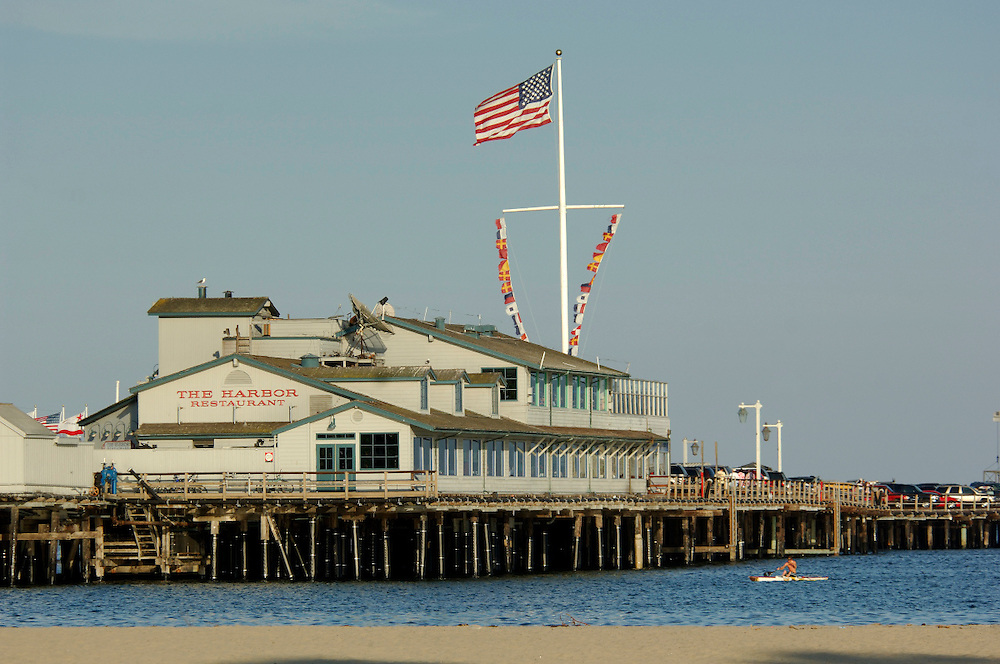 Stearns Wharf, Santa Barbara, California, United States of America