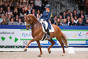 Emmelie Scholtens - Dorado<br /> VHO Trofee<br /> KWPN Hengstenkeuring 2016<br /> © DigiShots