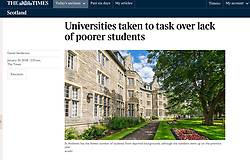 The Times; St Andrews University