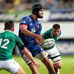 Thomas Lavault of France U20  during the U20 World Championship match between France and Ireland on May 30, 2018 in Perpignan, France. (Photo by Manuel Blondeau/Icon Sport)