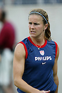 3 July 2004: Brandi Chastain. The United States beat Canada 1-0 at the The Coliseum in Nashville, TN in an womens international friendly soccer game..