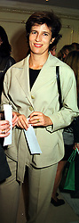 PRINCESS ESMERALDA OF BELGIUM at a fashion show in London on 28th September 1999.MWW 14 woro