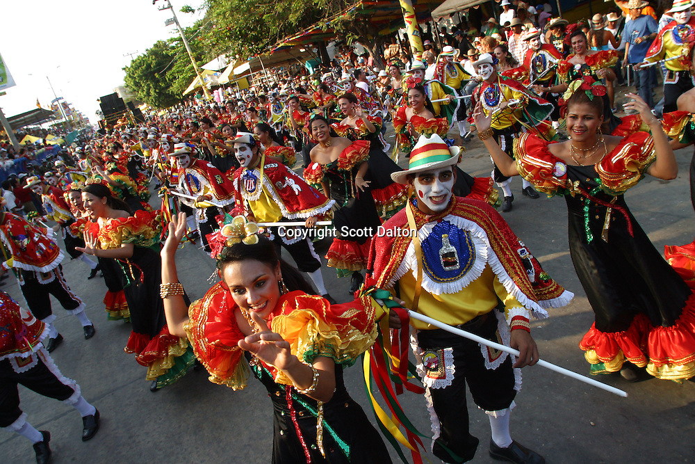 The annual Carnival of Barranquilla on the Caribbean coast of Colombia. (Photo/Scott Dalton)