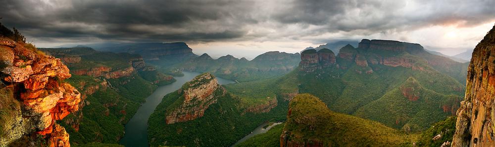 Spectacular Panorama of Blyde River Canyon Motlatse Canyon South Africa