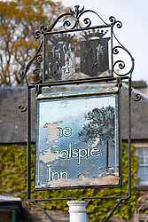 The Golspie Inn  on  the North Coast 500 scenic driving route in northern Scotland, UK