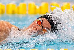 05-04-2019 NED: Swim Cup, Den Haag<br /> Femke Heemskerk wins the 200 meter freestyle during the Swim Cup