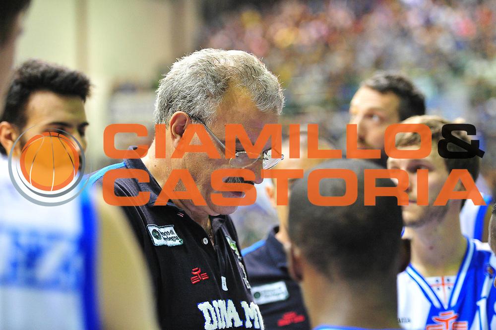 DESCRIZIONE : Sassari Lega A 2013-14 Dinamo Sassari - Pallacanestro Cant&ugrave;<br /> GIOCATORE :Meo Sacchetti<br /> CATEGORIA :Time Out<br /> SQUADRA : Dinamo Sassari<br /> EVENTO : Campionato Lega A 2013-2014 <br /> GARA : Dinamo Sassari - Pallacanestro Cant&ugrave;<br /> DATA : 20/10/2014<br /> SPORT : Pallacanestro <br /> AUTORE : Agenzia Ciamillo-Castoria/M.Turrini<br /> Galleria : Lega Basket A 2013-2014  <br /> Fotonotizia : Sassari Lega A 2013-14 Dinamo Sassari - Pallacanestro Cant&ugrave;<br /> Predefinita :