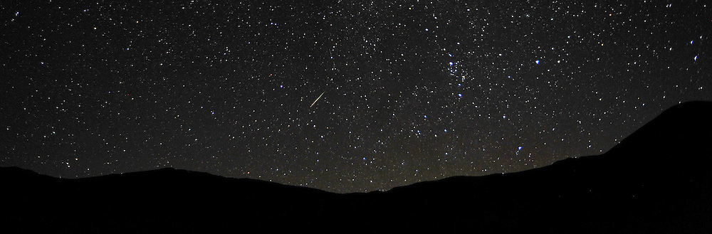 Night Sky & Perseids Meteor