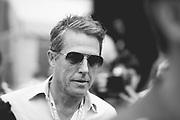 May 23-27, 2018: Monaco Grand Prix. Actor Hugh Grant