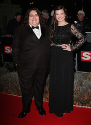 JONATHAN AND CHARLOTTE during Night of Heroes: The Sun Military Awards held at the Imperial War Museum, London, England, December 6, 2012. Photo by i-Images.