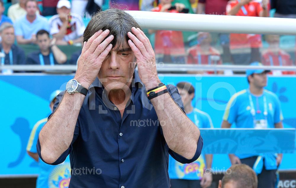 FUSSBALL WM 2014  VORRUNDE    Gruppe G     Deutschland - Portugal              16.06.2014 Bundestrainer Joachim Loew (Deutschland)