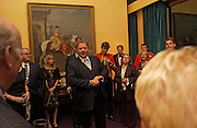 Richard  Briggs, Reception to support the Hyde Park Appeal for Liberty Drives ( a charity which enables people to travel around Hyde Park in electric buggies) in the presence of Prince Michael of Kent. Officers Mess. Household Cavalry Mounted Regiment. Hyde Park Barracks. 30 November 2004. ONE TIME USE ONLY - DO NOT ARCHIVE  © Copyright Photograph by Dafydd Jones 66 Stockwell Park Rd. London SW9 0DA Tel 020 7733 0108 www.dafjones.com