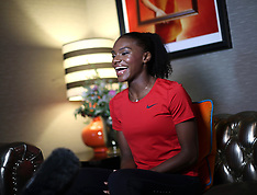 Dina Asher-Smith Media Interviews - 19 Sept 2018