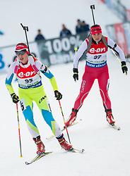 Urska Poje of Slovenia competes during Women 7.5 km Sprint at day 1 of IBU Biathlon World Cup 2014/2015 Pokljuka, on December 18, 2014 in Rudno polje, Pokljuka, Slovenia. Photo by Vid Ponikvar / Sportida