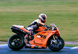 NIAL MACKENZIE GSE RACING INS DUCATI,  British Superbike Championship Brands Hatch 26th March 2000