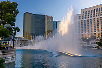 The fountains of Bellagio hotel, Las Vegas, Nevada U.S.A