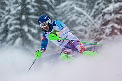 Harass Miroslav from Slovakia during Slalom race at 2019 World Para Alpine Skiing Championship, on January 23, 2019 in Kranjska Gora Slovenia. Photo by Matic Ritonja / Sportida