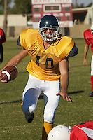Running Football Player