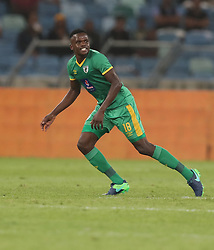Theriso Mapheto of Baroka FC during the 2016 Premier Soccer League match between Kaizer Chiefs and Baroka FC held at the Moses Mabhida Stadium in Durban, South Africa on the 2nd November 2016<br /> <br /> Photo by:   Steve Haag / Real Time Images