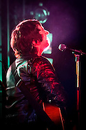 Tom Higgenson lead singer of the Plain White T's in concert in Yokosuka Japan