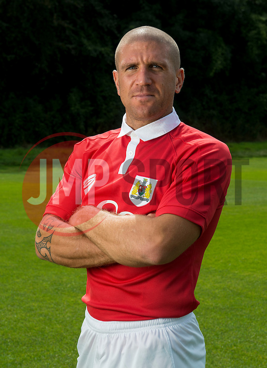 Bristol City's Adam El-Abd - Photo mandatory by-line: Joe Meredith/JMP - Mobile: 07966 386802 05/08/2014 - SPORT - FOOTBALL - Bristol - Ashton Gate - Press Day