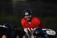 University of Mississippi football practice in Oxford, Miss. on Thursday, August 12, 2010.