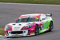 Robert Barrable (IRL) / Wilson Thompson (GBR)  #75 Insurance Racing  Ginetta G55 GT4  Ford Cyclone 3.7L V6 British GT Championship at Rockingham, Corby, Northamptonshire, United Kingdom. April 30 2016. World Copyright Peter Taylor/PSP.