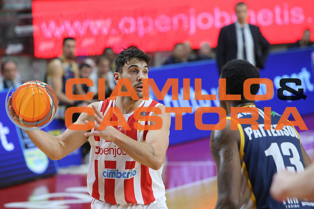 Tambone Matteo<br /> Openjobmetis Varese - Fiat Torino<br /> Lega Basket Serie A 2017/2018<br /> Varese, 14/01/2018<br /> Foto Ciamillo - Castoria