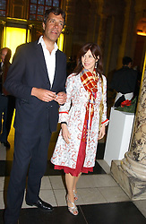 JASPER GUINNESS and CAMILLA GUINNESS at a party to celebrate the publication of  'Put On Your Pearl Girls!' by Lulu Guinness held at the V&A museum, London on 5th May 2005.<br /><br />NON EXCLUSIVE - WORLD RIGHTS