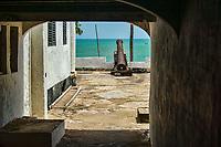 Corridor & Cannon, Elmina Castle