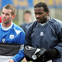 St Johnstone Training 30.01.07<br />