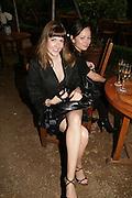 LAURA BOND AND VANESSA HOWARD, Tatler Summer party. Home House. Portman Sq. London. 27 June 2007.  -DO NOT ARCHIVE-© Copyright Photograph by Dafydd Jones. 248 Clapham Rd. London SW9 0PZ. Tel 0207 820 0771. www.dafjones.com.
