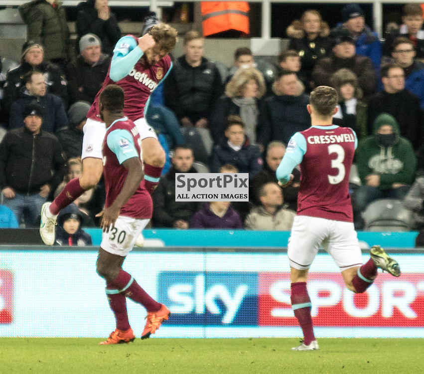 West Ham United's Nikica Jelavic celebrates his goal just after coming off the bench......(c) MARK INGRAM | SportPix.org.uk