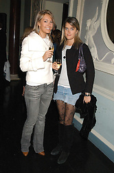 Left to right, OLIVIA BUCKINGHAM and VIOLET VON WESTENHOLTZ at a party hosted by Tatler magazine to celebrate the publication of Lunar park by Bret Easton Ellis held at Home House, 20 Portman Square, London W1 on 5th October 2005.<br /><br />NON EXCLUSIVE - WORLD RIGHTS
