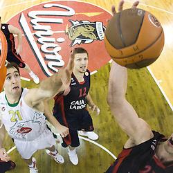 20091105: Basketball - Euroleague, KK Union Olimpija vs Caja Laboral