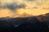 Richard Furhoff 100101_NewZealand_DSC4758.tif, .Sunrise, Southern Alps, New Zealand...