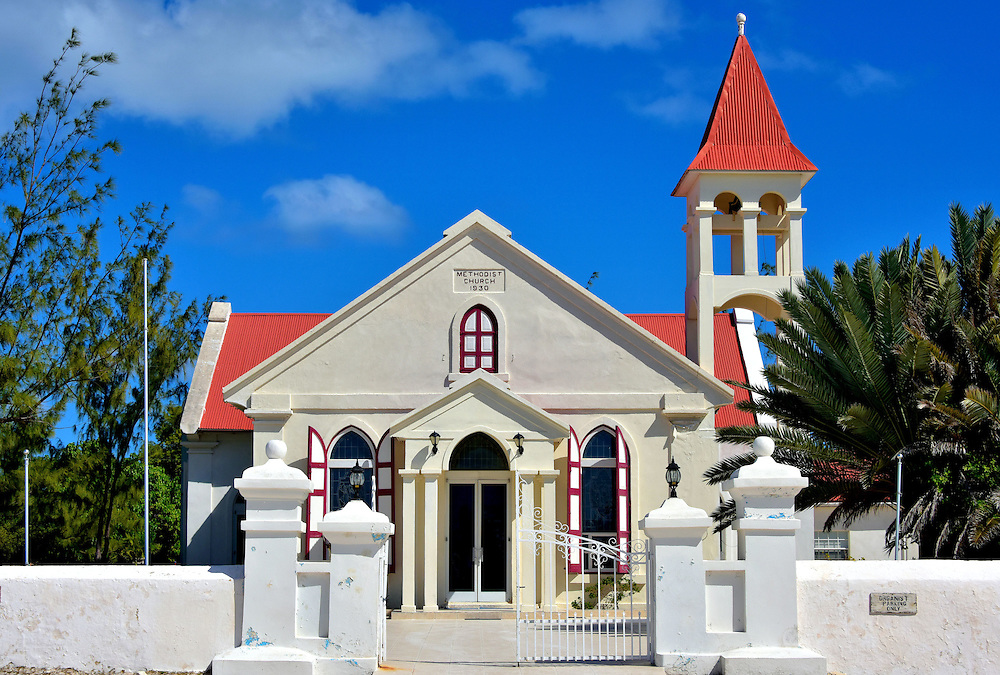 Methodist Church in Cockburn Town, Grand Turk, Turks and Caicos Islands <br />