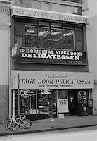 The Stage Door Delicatessen on Vesey Street Lower Manhattan New York circa 2000