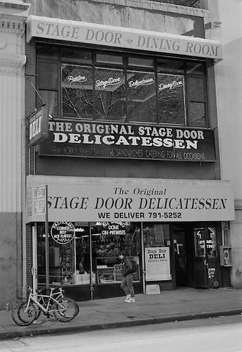 The Stage Door Delicatessen on Vesey Street Lower Manhattan New York circa 2000. & stage-door-deli-new-york.jpg | NoPhotography.com Irish Stock ...