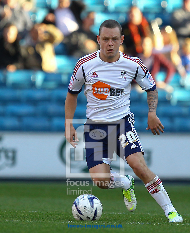 Picture by John  Rainford/Focus Images Ltd +44 7506 538356.06/10/2012.Jay Spearing of Bolton Wanderers during the npower Championship match at The Den, London.