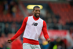BOURNEMOUTH, ENGLAND - Saturday, December 8, 2018: Liverpool's Georginio Wijnaldum during the pre-match warm-up before the FA Premier League match between AFC Bournemouth and Liverpool FC at the Vitality Stadium. (Pic by David Rawcliffe/Propaganda)