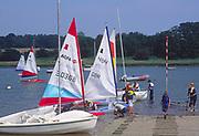 AT5BWC Launch sailing dinghy boats River Deben Woodbridge Suffolk