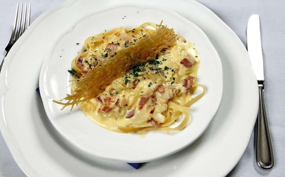 An Italian pasta dish, New Plymouth, New Zealand, June 08, 2005. Credit:SNPA / Rob Tucker