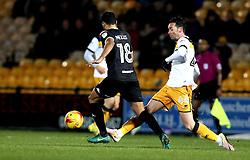 Chris Eagles of Port Vale passes the ball - Mandatory by-line: Robbie Stephenson/JMP - 20/01/2017 - FOOTBALL - Vale Park - Stoke-on-Trent, England - Port Vale v Bury - Sky Bet League One