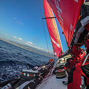 Leg Zero, Prologue, day 3 on-board MAPFRE. Photo by Jen Edney/MAPFRE/Volvo Ocean Race. 10 October, 2017. Etapa prologo, dia 3 a bordo MAPFRE. 10 octubre, 2017.