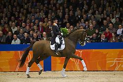 Cornelissen Adelinde (NED) - Jerich Parzival<br /> Paard van het Jaar<br /> KWPN Hengstenkeuring - 's Hertogenbosch 2012<br /> © Dirk Caremans