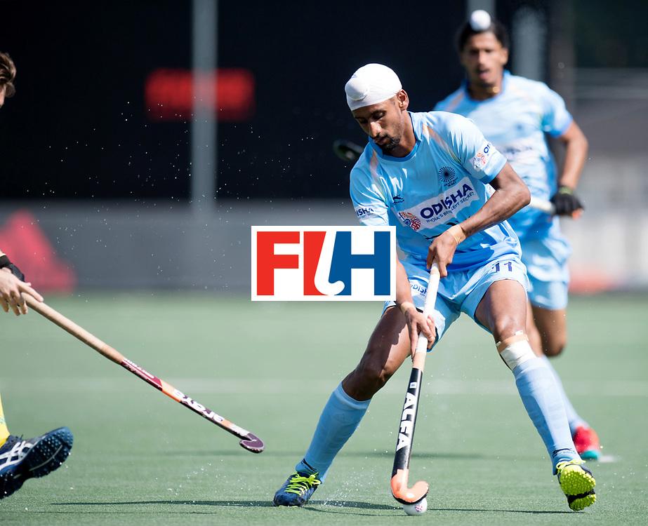 BREDA - Rabobank Hockey Champions Trophy<br /> India - Australia<br /> Photo: Mandeep Singh.<br /> COPYRIGHT WORLDSPORTPICS FRANK UIJLENBROEK