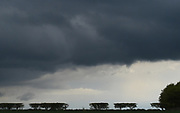 Storm clouds threat Stage 1 of the Tour de Yorkshire from Doncaster to Selby, Doncaster, United Kingdom on 2 May 2019.