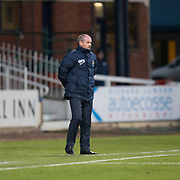18th November 2017, Dens Park, Dundee, Scotland; Scottish Premier League football, Dundee versus Kilmarnock; Kilmarnock boss Steve Clarke